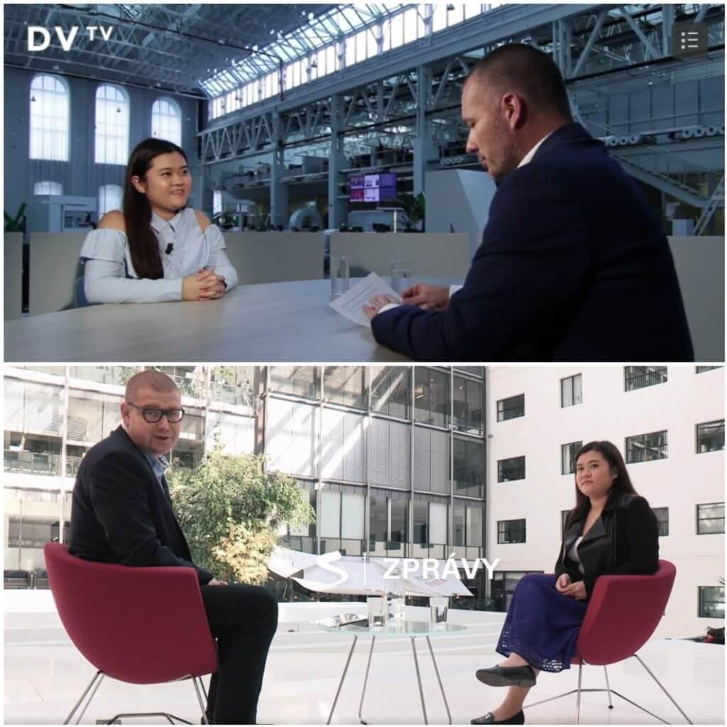 Sabina byla v DVTV i Seznamu